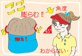 ゴルフ女子は帽子と髪型をどうするべき賢い大人女子はなぜワンレンな