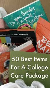 50 ideas for fun college care packages, full of gifts that your college  student will