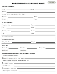 Authorization To Release Information Form Template Medical Forms ...
