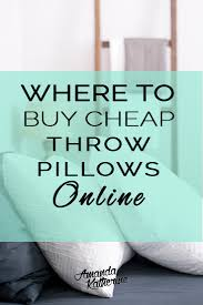 best place to buy throw pillows. Delighful Pillows Where To Buy Cheap Decorative Pillows Online Iu0027m Sharing My Secrets For The And Best Place To Buy Throw Pillows P