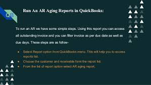 Ar Aging Reports Account Receivable Ar Aging Report With Quickbooks