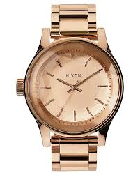 nixon the facet watch all rose gold surfstitch all rose gold mens accessories nixon watches a384897