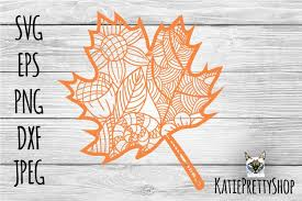 It is our responsibility to let every user quickly find the high quality free clipart material that they need. Fall Maple Leaf Svg Fall Cut File Zentangle Autumn Svg 775723 Cut Files Design Bundles