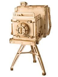 "Деревянный <b>конструктор</b> ""Винтажная камера"" <b>DIY house</b> ..."