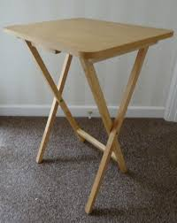small folding table side table camping tv etc