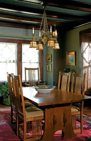 craftsman lighting dining room. mission style furniture prairie house in rockford illinois craftsman dining roomcraftsman lighting room d