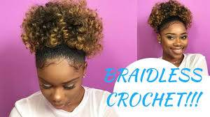 Crochet Braid Pattern For Ponytail Inspiration Here's How To Create A Puff Ponytail Using The Braidless Crochet Method