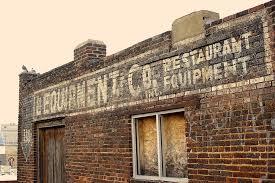 hd wallpaper restaurant sign brick old