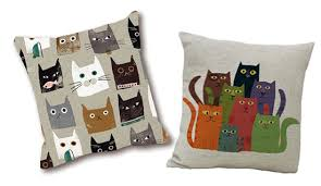 Cheap Decorative Pillows Under 10 Enchanting 32 Adorable Cat Throw Pillow Covers Under 32 Hauspanther