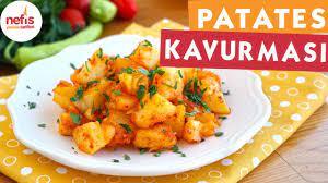Kolay Patates Kavurması Tarifi - Soslu Patates - Nefis Yemek Tarifleri -  YouTube