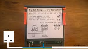 advice on wiring power supply to digital temperature controller how to wire pid controller to ssr at Temperature Controller Wiring Diagram