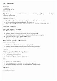 Resumes For Banking Jobs 40 New Property Manager Resume Sample Impressive Bank Job Resume Objective