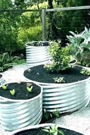 metal garden beds raised corrugated steel colorbond bunnings