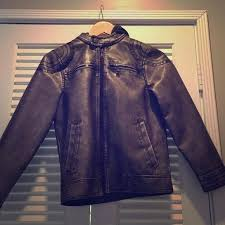 urban republic boys m jacket faux leather