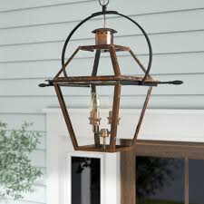 Large Hanging Front Porch Lights Laurel Foundry Modern Farmhouse Lois 4 Light Outdoor Hanging