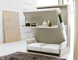 compact furniture. Murphy Bed Couch \u2013 Practical And Multifunctional Modern Furniture : Sofa Compact Flexible O