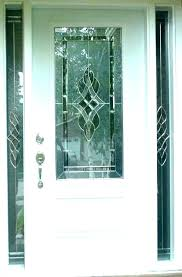 stain glass door inserts beveled front stained doors flawless nz s