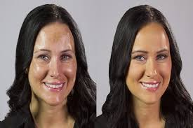 airbrush makeup before after picture