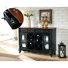 wine rack console table. Console Table With Wine Storage Black Walnut Wood Contemporary Rack Sideboard Buffet Display