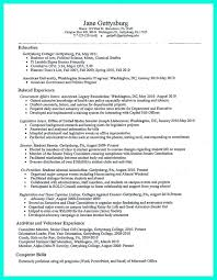 nice The Perfect College Resume Template to Get a Job,