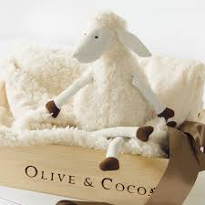 lulu lamb blankie