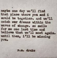 Loved Ones Quotes Inspiration Love Quotes One Day Baby ♡ Quotes Rm Drake
