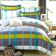 plaid bedding queen blue plaid flannel sheet set queen plaid bedspread queen
