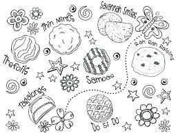 Girl Scout Law Coloring Pages Download Daisy Cookie Activities For