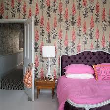 bedroom wallpaper design ideas. Beige And Pink Floral Wallpaper Bedroom Design Ideas