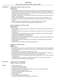 Resume Nursingume Examples Emergency Room Nurse Sample