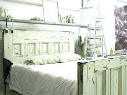 headboard made from old doors vibrant design headboard made out of old doors from headboards reclaimed