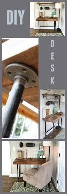 Check out this awesome DIY tutorial. Takes minimal tools, basic lumber and  pipe.
