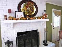 white brick fireplace decorating ideas for best brick fireplace designs