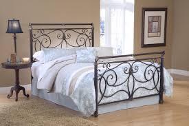 Bedroom:Amazing Metal Bed Design With Decorative Headboard Style Also Light  Oak Wood Floor Amazing