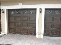 diy faux wood garage doors. Wood Gain Painted Garage Doors Diy Faux Wood G