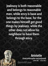 Christian Quotes On Jealousy Best Of Aristotle Men Quotes QuoteHD