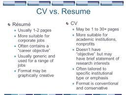 Cv Vs Resume Example] 7 Cv Vs Resume Examples Mail Clerked, Cv Vs .