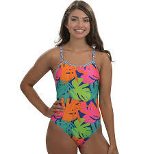 Womens Dolfin Uglies Printed One Piece Swimsuit Products