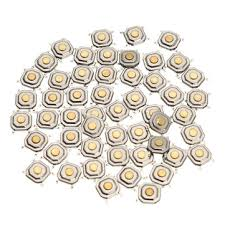 <b>150Pcs DC12V 4 Pins</b> Tact Tactile Push Button Momentary SMD ...