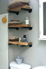 charming industrial shelf wall 3 tier pipe review main vintage for kitchen home depot shelving diy