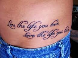Small Quote Tattoos Cool Sexy Hot Black Small Quote Tattoos For Girls Stomach Small Quote