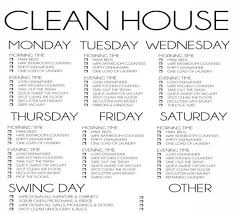 Home Cleaning List Major Magdalene Project Org