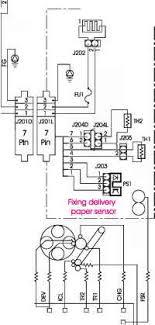 main wiring diagram hp color laserjet 2500 hewlett packard repairs high voltage power supply pcb