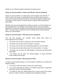 communication essay writing writing and communication center  help writing biology paper