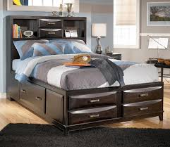 Ashley Furniture Kira Full Storage Bed Ahfa Captain39s With Regard
