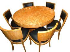 art deco dining table and chairs art deco mid century dining