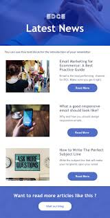 Newsletters Templates 5 Free Newsletter Templates To Make Your Email Standout
