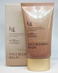 face blemish balm spf30 pa whitening 50 ml ขนาด 50 ml see why welcos no makeup
