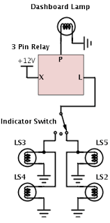 3 pin electronic flasher relay wiring diagram meetcolab 3 pin electronic flasher relay wiring diagram flasher relay 3