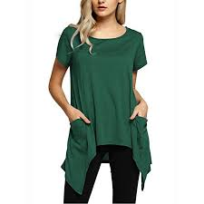 Walmart Womens Size Chart Lelinta Womens Short Sleeves Color Block Striped Tops Crew Neck Blouses Casual Shirts Black Blue Green Red